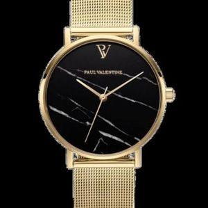 Paul valentine gold and marble watch, near new!!